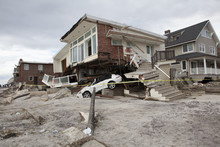 NEW YORK - November 1: Crashed...