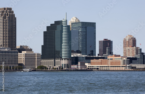 New Jersey skyline Canvas Print