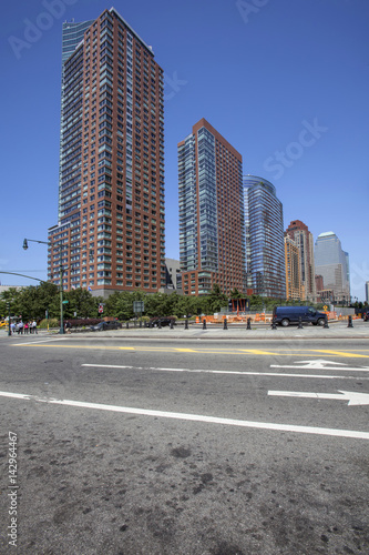 Part of Battery Park City Canvas Print