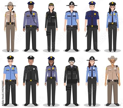 Fotografie, Obraz Police people concept