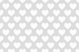 hearts seamless wallpaper white - 142969893
