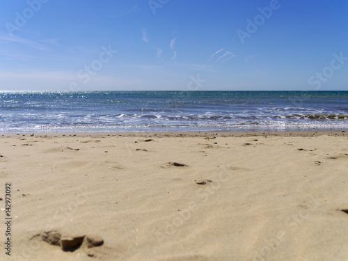 Orilla del mar, Punta Umbría, Huelva