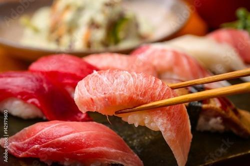 Fotomural  tuna sushi, 참치초밥