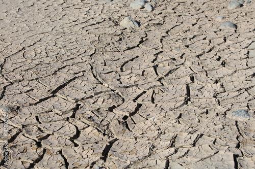 Fotografie, Obraz  California Drought Dry River Bed