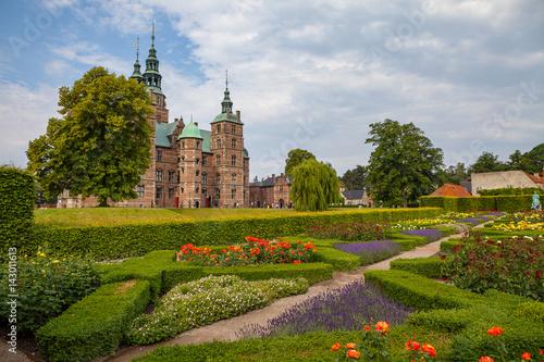 Rosenborg castle, Copenhagen Canvas Print