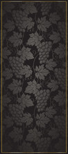 Wine Black Background With Gra...