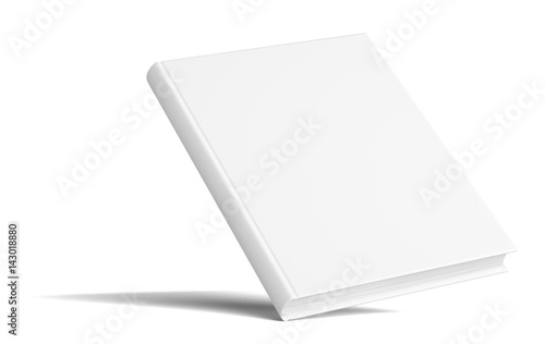 blank book with shadows mock up template buy this stock