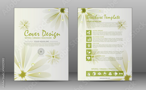 Spa Brochure Template | Spa Brochure Template Buy This Stock Vector And Explore Similar