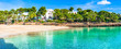 Spanien Mittelmeer Mallorca Strand Urlaub Bucht Cala Gran