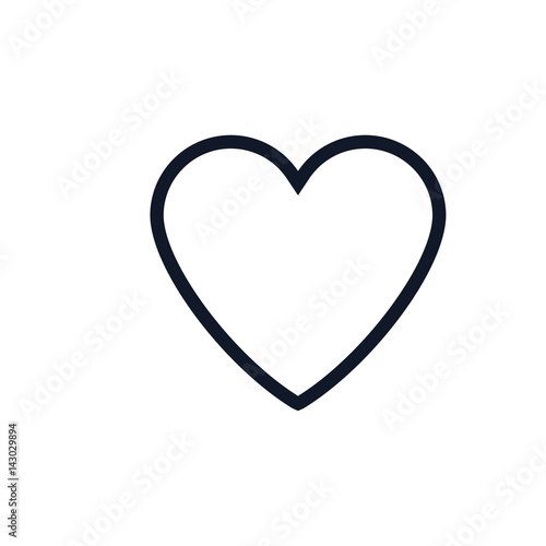 heart icon vector illustration buy this stock vector and explore