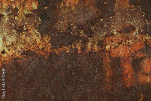 Türaufkleber Metall urban metal rust texture