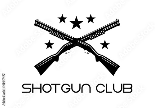 Fototapeta shotgun club