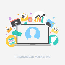 Personalized Marketing Vector ...