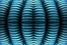 Blue Ribbed Texture