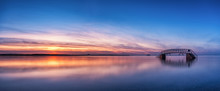 Panorama Sunset Of Belhaven Br...