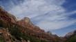 Felsige Landschaft im Zion Nationalpark, Arizona, USA