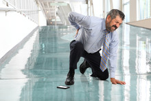 Businessman Suffering From Bac...
