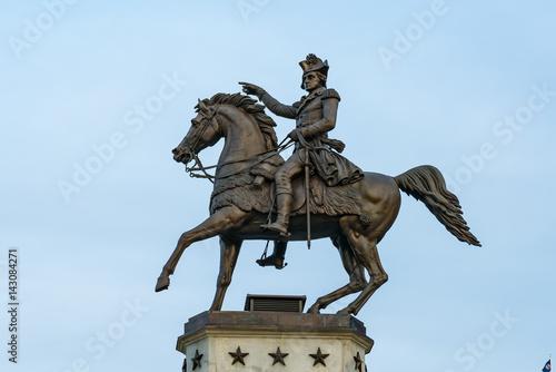 Zdjęcie XXL George Washington statua w Richmond Virginia
