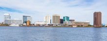 Norfolk, Virginia City Skyline