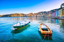 Wooden Small Boats In Porto Sa...