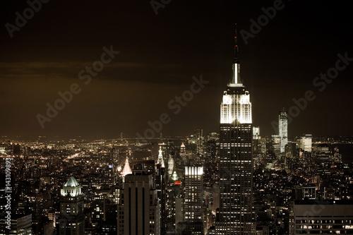 Fotografie, Obraz  New York at night
