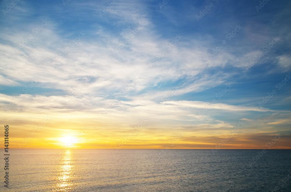 Fototapety, obrazy: Beautiful sky background.