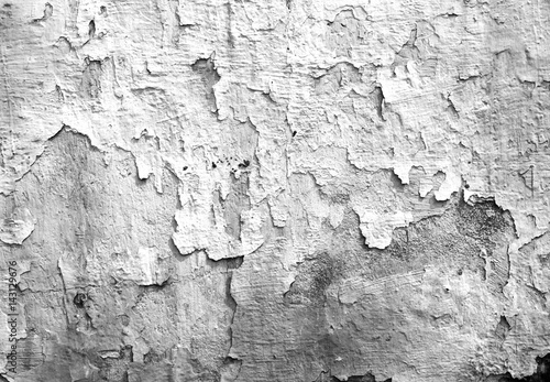 Aluminium Prints Old dirty textured wall cement wall