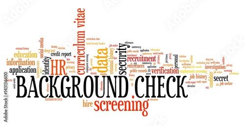 Fotografía  Employment screening