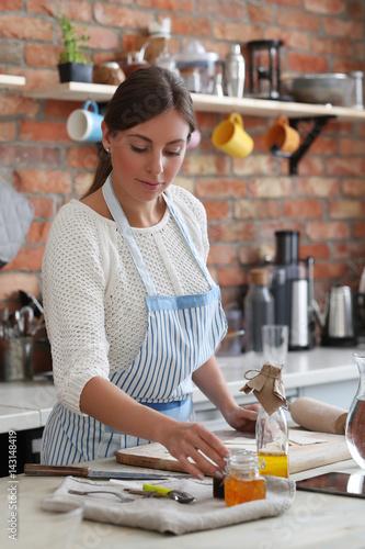 Poster Ecole de Danse Woman cooking