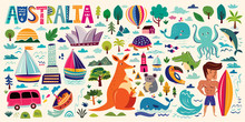 Illustration With Australian S...