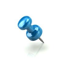 Blue Push Pin