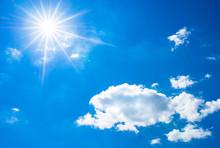 Himmel Blau Sonne Sonnenstrahl...