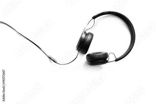 Headset on a white background - 143172667