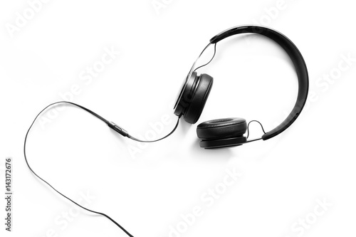 Fotografie, Obraz  Headset on a white background