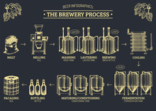 Vector Beer Infographics With ...