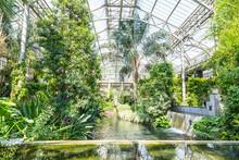 Botanical Garden Greenhous.