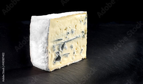 Cross-section of montagnolo affine cheese Wallpaper Mural