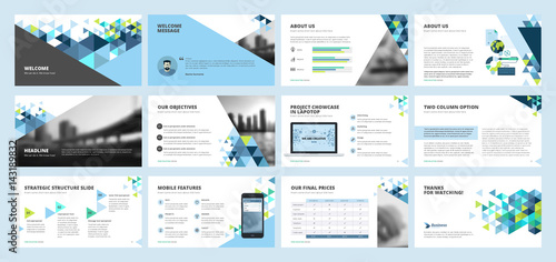 Business presentation templates set of vector infographic elements business presentation templates set of vector infographic elements for presentation slides annual report cheaphphosting Image collections