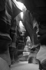 Obraz na Plexi Czarno-Biały Scenic canyon Antelope