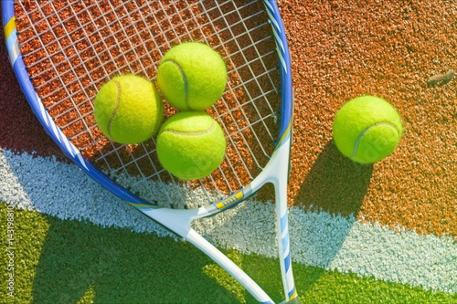 Tennis. Poster