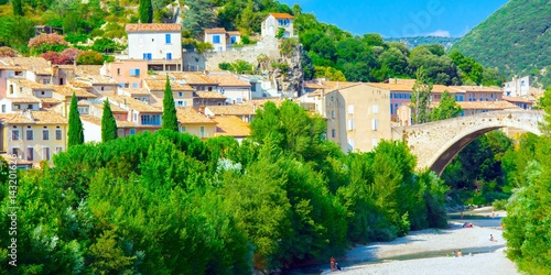 Papiers peints Vert Nyons en Provence, France