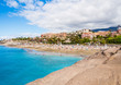 Picturesque El Duque beach. Tenerife. Canary islands, Spain