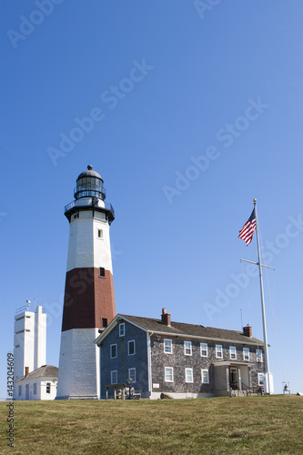 Vászonkép  Lighthouse at Montauk Point.