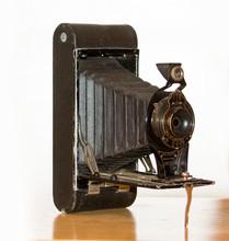 Antique  Folding Camera No 2C