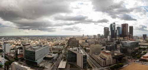 Zdjęcie XXL Panoramy linia horyzontu w centrum Los Angeles