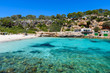 Cala Llombards - beautiful beach in bay of Mallorca, Spain