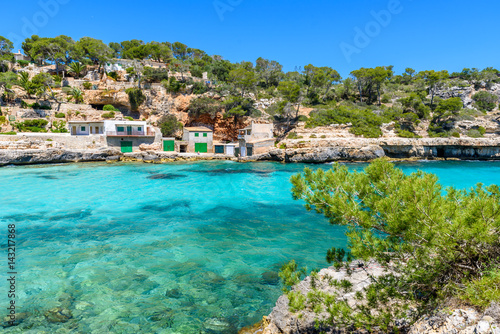 Foto op Aluminium Kust Cala Llombards - beautiful beach in bay of Mallorca, Spain
