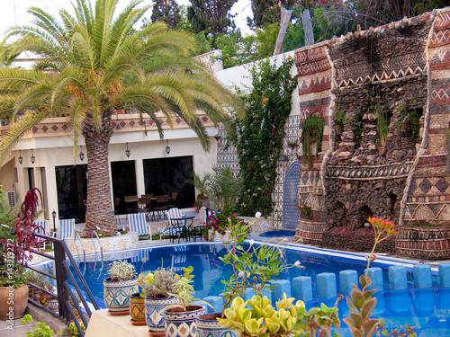 Printed kitchen splashbacks Coast hotel atlantic,agadir,maroc