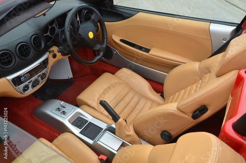 Photo Ferrari interior