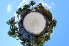 South Beach, Florida Tiny Planet